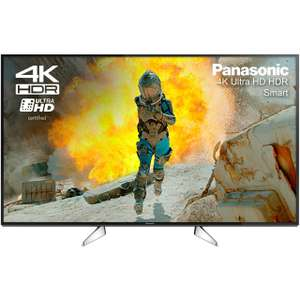 "Panasonic TX-49EX600B 49"" Freeview HD and Freeview Play Smart 4K Ultra HD with HDR TV - Black £559 Delivered using code with anytime delivery @ AO"