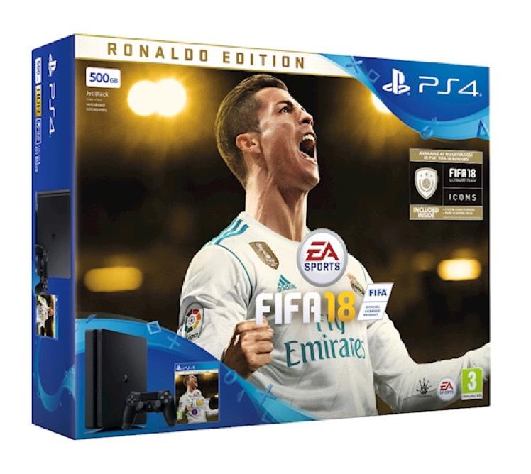 PS4 Slim 500gb plus early access Ronaldo Edition Fifa 18 - £198.99 @ Grainger Games