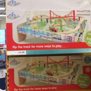 Kids train track £14.98 instore @ Tesco