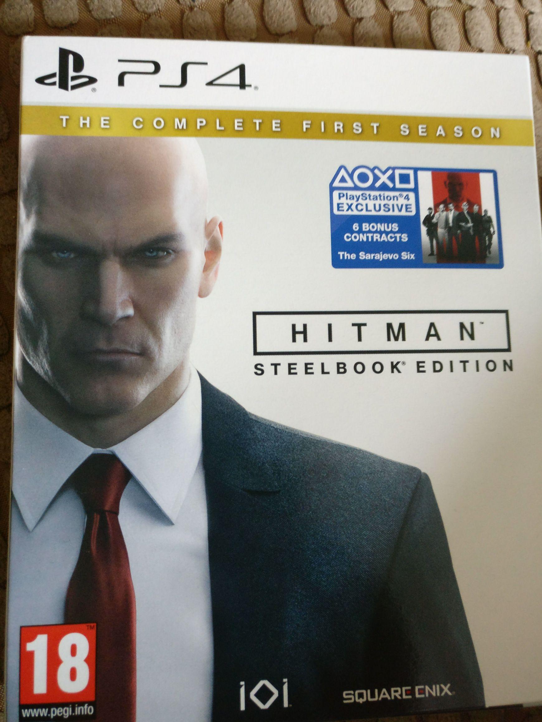 Hitman Steelbook edition - £5 instore @ Smyths Toys