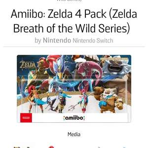 Amiibo champions 4 pack from Gamestop.ie for £59.37 delivered