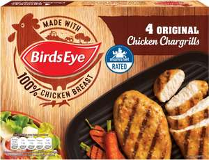 Birds Eye 4 Original Chicken Chargrills (340g) was ONE pack is £2.75 whilst buying 3 at the same time will cost you £5.00 @ Tesco