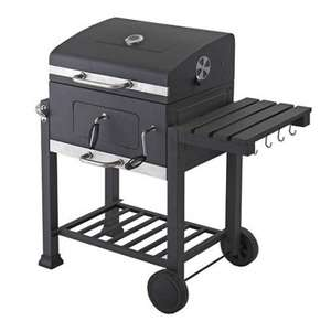 Toronto Charcoal BBQ Grill - With Side Table @ Tesco Direct