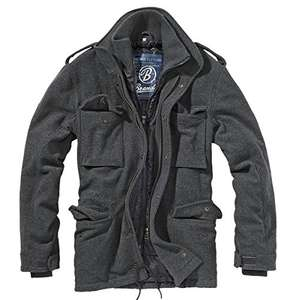 Brandit M65 Voyager - half wool jacket. Grey, Large size. Free delivery and returns. £27.62 Amazon
