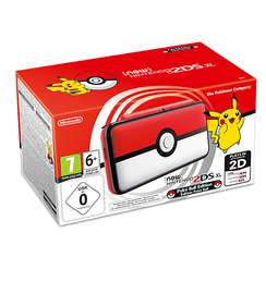 New Nintendo 2DS XL Poke Ball Edition Console - £134.99 - Base