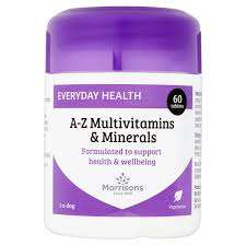 All £2.50 vitamins in Morrisons on 3 for 2