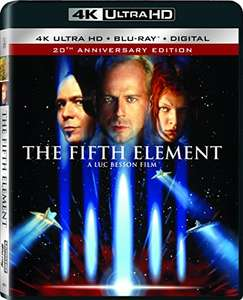 The Fifth Element [4K UHD + Blu Ray + Digital UV] £15.71@ Amazon.com