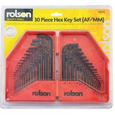 Full set of Allen keys/ Hex keys on Amazon a bargain @ £2.00 + postage. Amazon add on item.