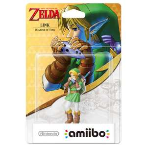 Link Ocarina of Time / 8bit Link Amiibo back instock £10:99 each @ Nintendo Store