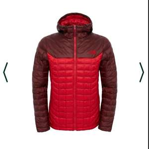 The North Face Mens Thermoball Hoodie Red (Sizes L & XL) £99.99 @ The Mountain Edge
