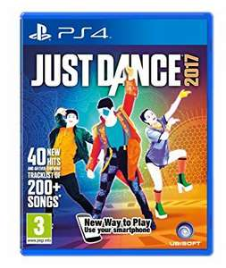Just Dance 2017 PS4 (prime) £16.85 (Prime) / £18.84 (non Prime) at Amazon