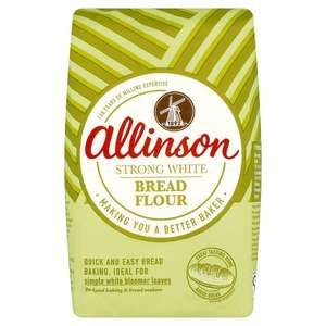 Allinson Strong White Bread Flour 1.5Kg £1 until 03/10/17 @ Tesco