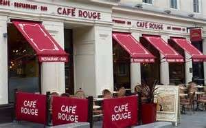 Steak, Frites + Glass of Wine for 2 People £16 /  4 People £32 / 6 People £48 @ Café Rouge via Groupon