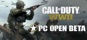 Call of Duty WWII Open Beta PC @ Steam