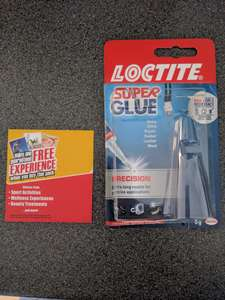 Free experience or two for one entry at hundreds of locations in promotional packs of loctite super glue - £2.49 at B&M