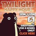 CD-WOW £1 off everything Twilight Happy Hour