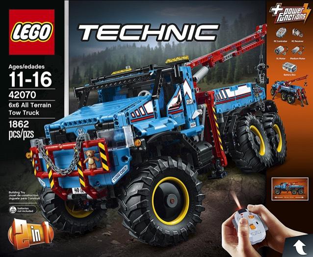 LEGO 42070 6x6 All Terrain Tow Truck Toy £166.99 Amazon