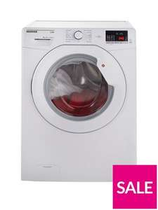 £256.98 - Hoover Link One Touch HLA1492D3 9kg Load, 1400 Spin Washing Machine - White @ Very.co.uk