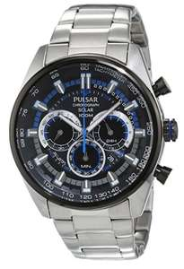 In stock on October 5, 2017 £70 @ amazon: Pulsar (by Seiko) WRC PX5019X1 Men's Solar Chronograph