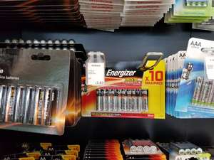 10x Energiser AAA Batteries £3.83 at Asda Instore