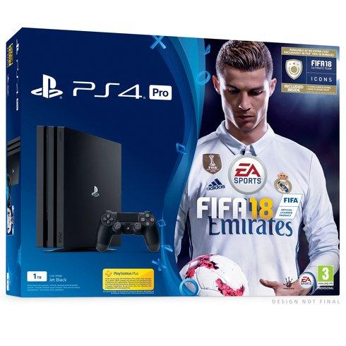 Playstation 4 Pro 1TB FIFA 18 Bundle @ smyths pre-order - £339.99