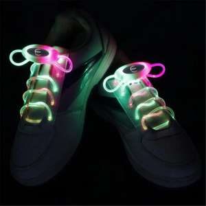 Light Up LED Shoelaces Fashion Flash Disco Party Glowing Neon Shoelace - £3.08 at GearBest (free delivery)