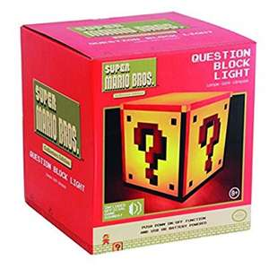 Mario Question Block Light @ Amazon Dispatched and sold by Maplin_Webdeals £12.99 delivered