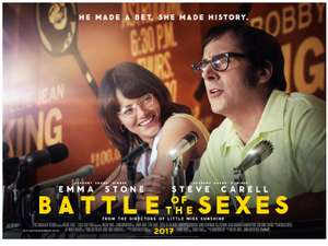 Free Cinema Tickets  - Battle of the Sexes 10th October 2017 @ BFI  in association with SFF