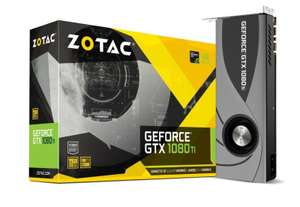 Zotac NVIDIA GeForce GTX 1080 Ti 11GB Blower ( + Free Game) - £591.99 @ Ebuyer
