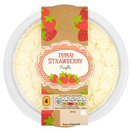 Tesco Strawberry Trifle (600g) Half Price was £2.50 now £1.25 @ Tesco