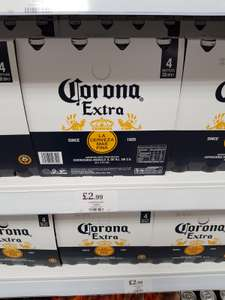 4 Bottles of Corona 330ml ONLY £2.99 Home Bargains