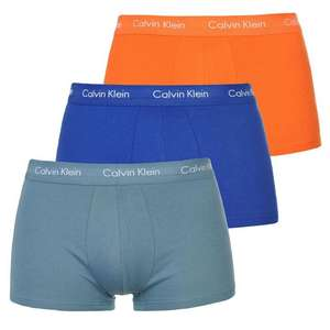 Calvin Klein Men's Boxers 3 Pack for £18.50 from £35 @ USC (plus £4.99 P&P)
