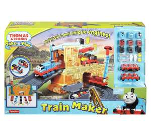 Fisher-Price Thomas & Friends Take-n-Play Engine Maker Now £11.99 at Argos