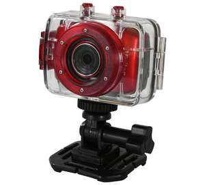 Vivitar DVR783HD HD Action Camera - Red £24.99 @ Argos