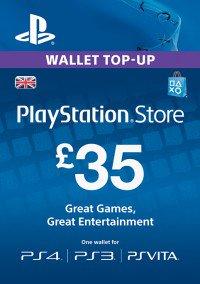 £35 PSN Wallet Top Up - £31.89 @ CD Keys