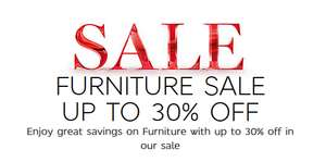 30% OFF SOFAS AND FURNITURE AT M&S
