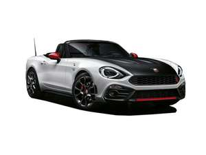 Fiat Abarth 124 Spider 3 year lease £309 per month 8000 miles per annum. Nationwide Vehicle Contracts