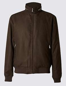 Wadded Bomber Jacket with Concealed Hood £47 @ M&S