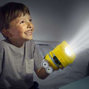 Minion 2-in-1 Battery Powered Nightlight and Torch £3.99 Free Click & Collect, Free Delivery over £10 or £2.99 Delivery under £10 @ Maplin or Amazon Add-On Item at same price (link in description)