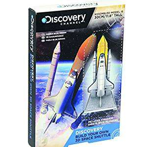 Discovery Channel Build Your Own Kits (Hovercraft, 3D Space Shuttle, 3D Shark Anatomy Model, Dragster, Blow Rockets, Stunt Plane) £1.50-£2 each Free C&C, Free Delivery over £10, £2.99 Delivery under £10 @ Maplin