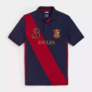 Men's joules polo shirt  now £21.95 with free postage - ebay /  Joules