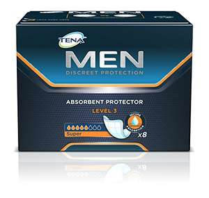 NRS Tena for Men Absorbent Protectors - Level 3, Pack 8 £3.49 (Add-on Item) @ Amazon