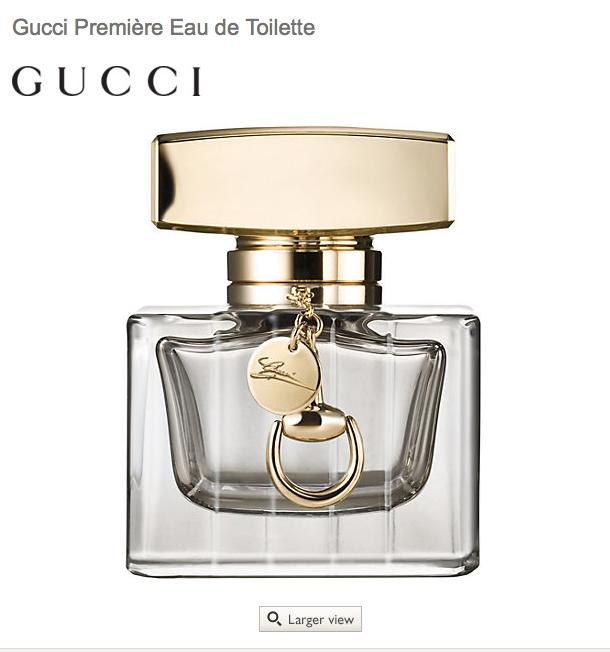 Gucci Première Eau de Toilette 50ml selling for £42 at John Lewis