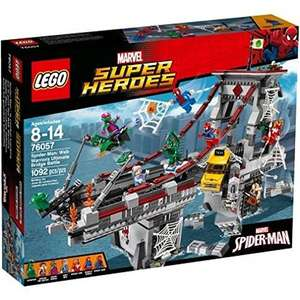 Spider-Man Web Warriors Ultimate Bridge RRP 99.99 (Lego Store) Amazon £64.99
