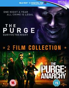 [Blu Ray] The Purge / The Purge: Anarchy with UltraViolet Boxset - £5.40 - Zoom