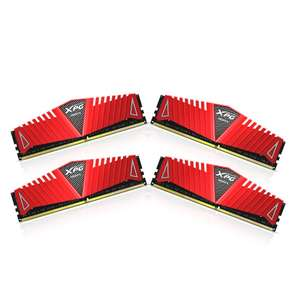 XPG by ADATA Z1 DDR4 2800MHz (PC4 22400) 16GB (4GBx4) Memory Modules, Red , £89.92 from amazon