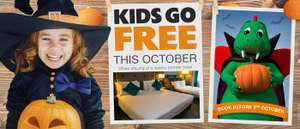 LEGOLAND Holidays - Kids Go FREE & 2nd Day Free ALL October (including Half Term) on Partner Hotel Stays ie 2A + 2C from £36pp (£144) - most offer Free Breakfast + Christmas Breaks in OP