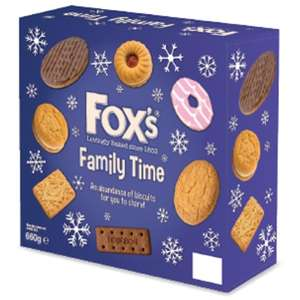 Fox's Family Time Biscuits (700g) ONLY £1.99 @ B&M