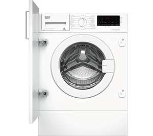 BEKO WIX765450 Integrated 7 kg 1600 Spin Washing Machine - White, was £499  £289.99 @ Currys