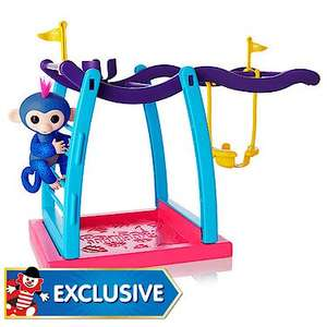 Fingerlings Monkey Bar Playset with Exclusive Glitter Fingerling £25 C+C @ The Entertainer